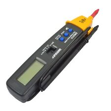 Portable Digital Multimeter Pen Type Volt Ohm Ammeter Auto Range Multi-function