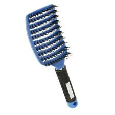 Vented Paddle Detangling Hair Brush Nylon Bristle Hairbrush Comb Frizz Free