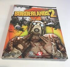 Borderlands 2 Guide Book Brady Games Signature series paperback game guide vgc