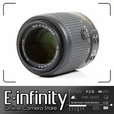 NUOVO Nikon AF-S DX NIKKOR 55-200mm f/4-5.6G ED VR II VR2 Obiettivo F4-5.6G
