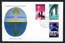 Gilbert & Ellice Islands - 1971 Christmas First Day Cover