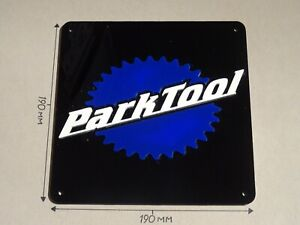 Park Tool, Park Tools Bicycle, Cycle, Acrylic Square 190 X 190mm Sign.