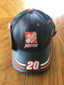 Tony Stewart #20 leather hat NWT