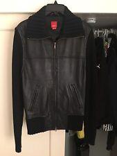 Esprit Leather Jacket Size S