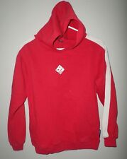 DOMINO'S PIZZA youth lrg hooded red sweatshirt delivery franchise logo Hoodie