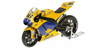 Yamaha YZR-M1 Team Camel Valentino Rossi 2006 End Of Race Version 1:12