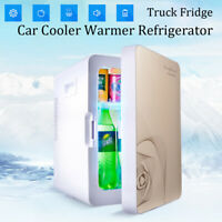 20L Portable 12V Car Mini Fridge Freezer Travel Cool Warmer Refrigerator DC