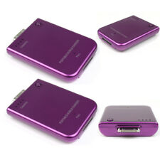 2 2800MAH EXTERNAL PURPLE BATTERY POWER CHARGER 30-PIN IPHONE 4S 4 3G IPOD TOUCH