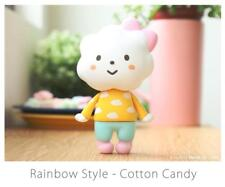 RAINBOW STYLE COTTON CANDY EDITION VINYL TOY FIGURE BY FLUFFY HOUSE