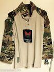 new Military Crye Precision Tactical Combat Shirt Custom MULTICAM SMALL Reg
