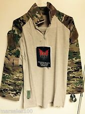 new Military Crye Precision Tactical Combat Shirt Custom MULTICAM SMALL Reg