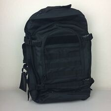 SOC Black Backpack Bugout Bag #5016 Expandable Tactical Military Deployment Lg