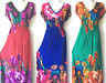 PLUS SIZE Women Long Maxi summer beach hawaiian Boho evening party sundress #26