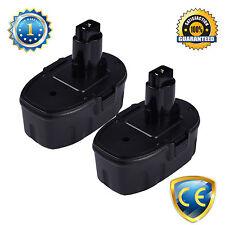 2PCS 18V 2.0Ah Replacement Battery For Dewalt DW9098,DW999K2H,DW999KQ,DCD950KX