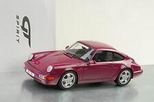 1993 911 964 Porsche Carrera RS étoile Rubin 1:18 GT Spirit zm095