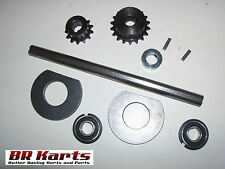"Jackshaft Kit for Mini-Bike Chopper or Go-Kart, 5/8"" x 14"", #35 Chain - NEW"