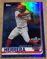 Odubel Herrera 2019 Topps Opening Day Blue Parallel Philadelphia Phillies #137