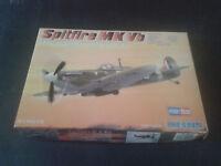 Avion militaire SPITFIRE MKVB HOBBY BOSS echelle 1:72 Ref 80212