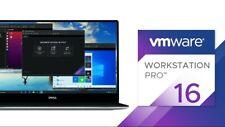 Original VMWare Workstation Pro 16 🔑🔓 3 License Keys + Download Link 🔑🔓
