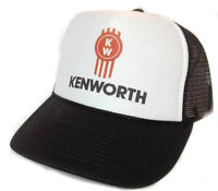 8e003cb465de3 Kenworth W900 Semi Truck Classic Outline Design Hat Cap