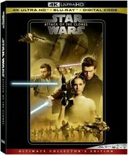 Star Wars Episode Ii Attack Of The Clones 4K Hd + Blu Ray+digital
