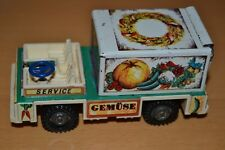 Vintage Prima Filius Vintage Tin Toy Truck - Service Gemuse Made in Germany