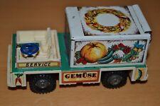 Vintage Prima Filius Vintage Tin Toy Truck - Service Gemuse GDR