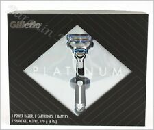 Gillette Platinum Shave Set LIMITED EDITION New Free Shipping