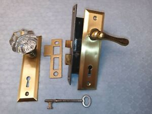 French Door Mortise Lock 1-1/4 Backset