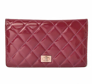CHANEL Matelasse Wallet A69208 Patent leather cw1103