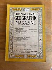 1941-11 NOVEMBER NATIONAL GEOGRAPHIC: NEW YORK-THAILAND-SINGAPORE-CANADA-PANAMA