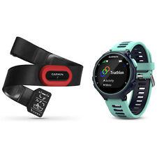 Garmin Forerunner 735XT GPS Running Watch Run-Bundle - Midnight Blue
