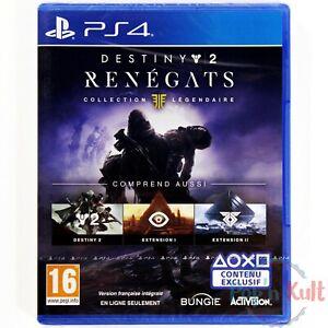 Jeu Destiny 2 Renégats Collection Légendaire [VF] PlayStation 4 PS4 NEUF Blister