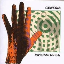 GENESIS - INVISIBLE TOUCH-REMASTER  CD  8 TRACKS INTERNATIONAL POP  NEW!