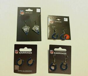 Indianapolis Colts NFL Earrings~Choose Your Style: Post/Dangle/Arrow
