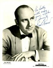 Vintage TED WEEMS Signed Photo