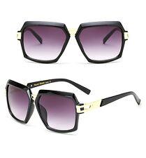 Large Men Retro Vintage Metal Bar AVIATOR Square Designer Fashion Men Sunglasses