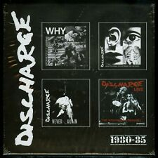 Discharge 1980-85 4 CD Why Never Again Nightmare Continues Hear Nothing See Say