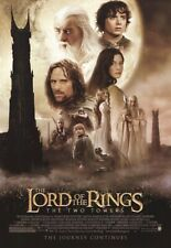Lord Of The Rings Movie Poster ~ Two Towers Regular 27x39 Peter Jackson Hobbit