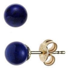 Echtschmuck aus Gelbgold mit Lapis Lazuli-Hauptstein für Damen