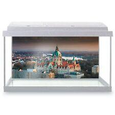 Fish Tank Background 90x45cm - City Hall Hanover Germany  #3197