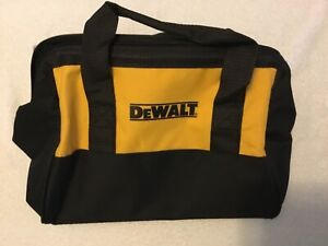 "New Dewalt Heavy Duty Ballistic Nylon 13"" Tool Bag (13"" x 10"" x 10"")"