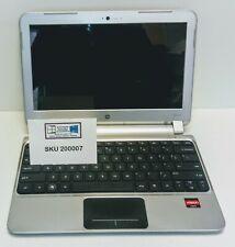 "Notebook / Netbook / HP Pavillon DM1 / 4 GB Ram / 120 GB SSD / WIn 10 / 11,6"""