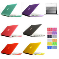 "For Macbook PRO 15.4 15"" A1286 Plastic Hard Case + Keyboard Cover + LCD Screen"