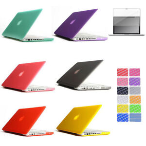 """For Macbook PRO 15.4 15"""" A1286 Plastic Hard Case + Keyboard Cover + LCD Screen"""