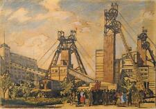 An unknown artist, Industrial Landscape, Art Painting Russian 19 century