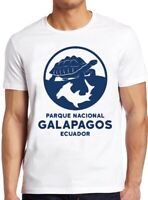 Galapagos Island T Shirt National Park Turtle Shark Vintage Cool Gift Tee 172