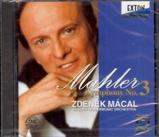 MAHLER - Symphony 3 - Zdenek MACAL - Exton - 2CDs New & Sealed SACD