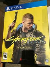 Cyberpunk 2077 Collector's Edition (PlayStation 4, 2020) PS4
