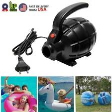 Portable Electric Air Pump For Inflatable Swimming Pool Floats & Toys 550W Us+